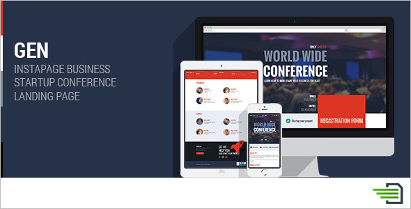 Instapage Conference Landing Page