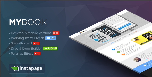 Instapage Ebook Landing Page Template