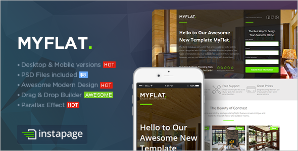 Instapage Real Estate Template