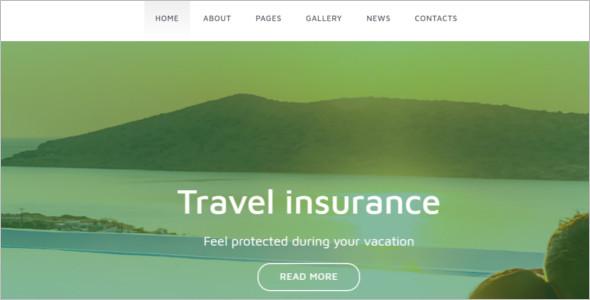 Insurance Joomla Website Template