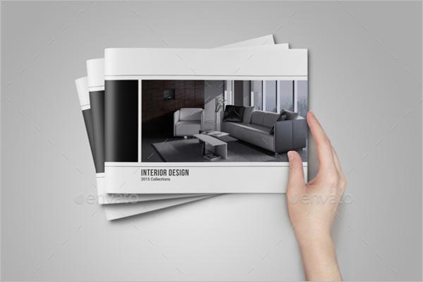 Interior Portfolio Design Template