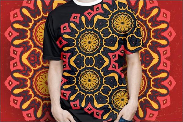 Intricate Ornament T-Shirt Design