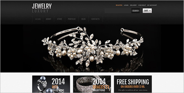 Jewelry Accessories OsCommerce Template