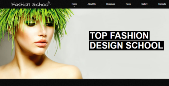Joomla Fashion Design School Free Theme