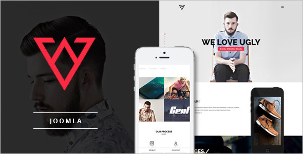 Joomla One Page Parallax Template