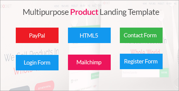 Landing Page Template Docket