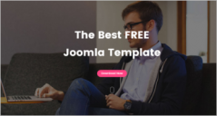 25+ Latest Free Joomla Website Templates