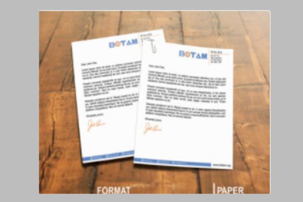 Letterhead Design Outlook Ideas