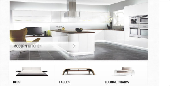 Living Space OsCommerce Template