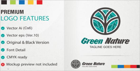 Logo Design Green Nature