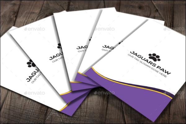 Luxury Pattern Business Card