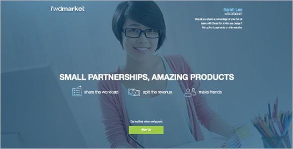 Marketing Startup Landing Template