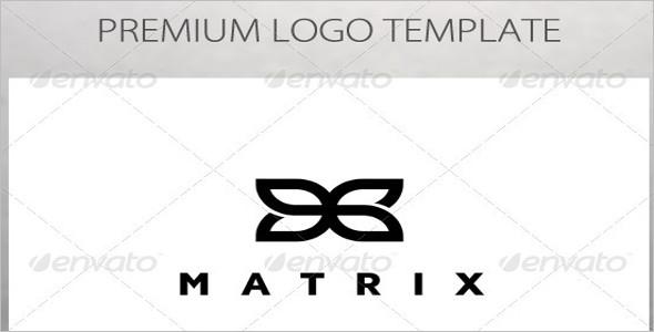 Matrix Abstract Symbol Logo Template