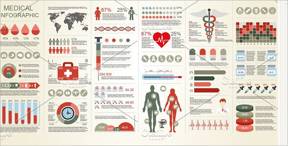 Medical Infographic Element Template