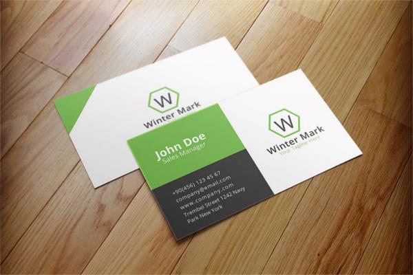 Minimal Cooperative Card Design