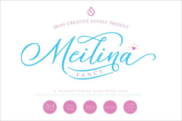 Minimal Fancy Font Design