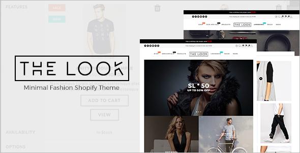 Minimal Fashion Shopify Theme