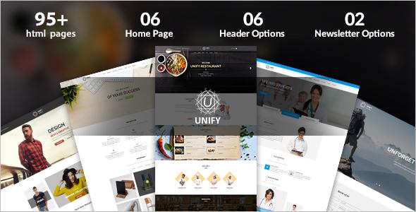 Minimal Joomla Website Template