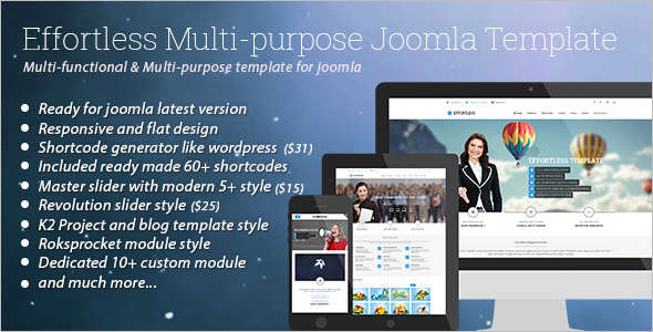 Minimal Multi-Purpose Joomla Template