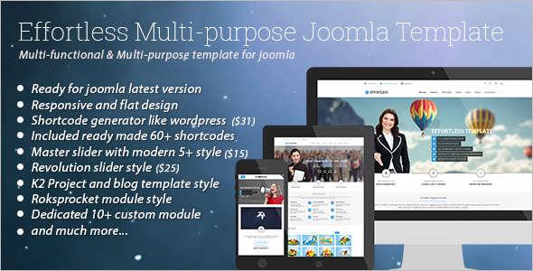 Minimal Multi-Purpose Joomla Template