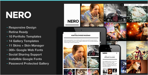 Minimal Photo Studio WordPress Theme