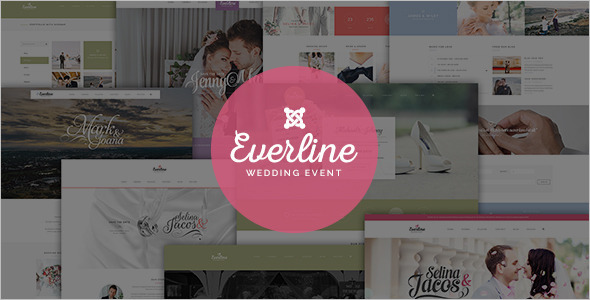 Minimal Wedding Joomla Template
