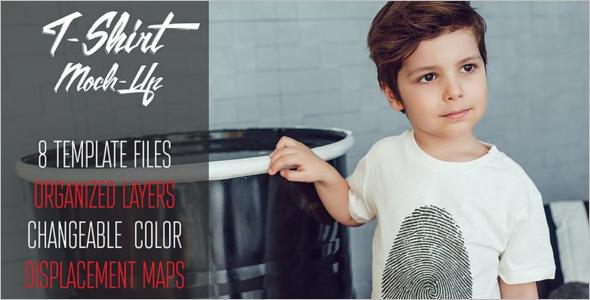 Minimal kids T Shirt Design
