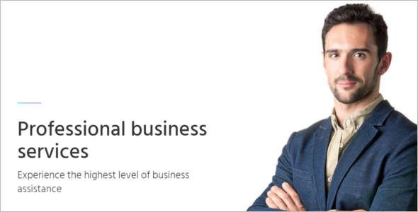 Modern Consultancy Business Website Template