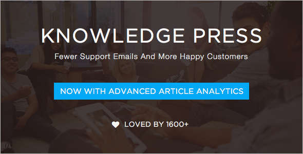Modern Knowledge & Helpdesk Website Theme