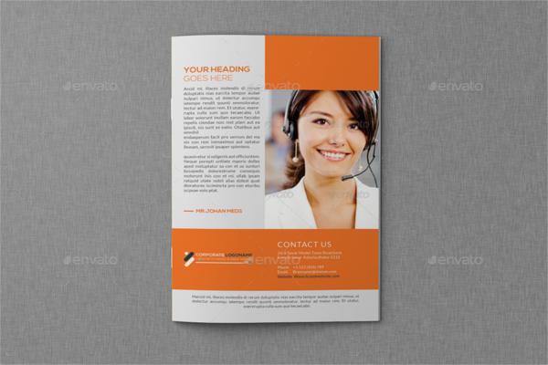 Modern Marketing Service Brochure