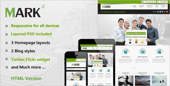 Modern Responsive Business Template