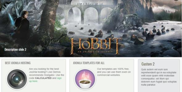Movie Template Free Joomla 3.0
