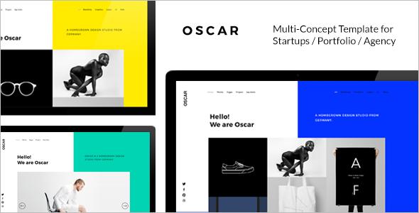 Multi Concept Startup Website