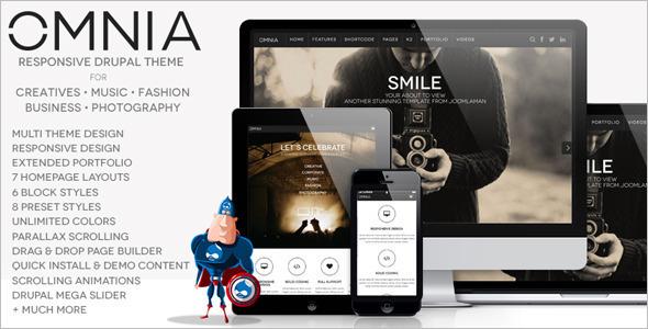 Multi Purpose Agency Drupal Theme