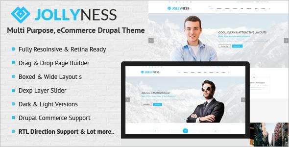 Multi Purpose E-Commerce Drupal Theme