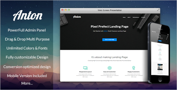 Multi-Purpose Pagewiz Responsive Template