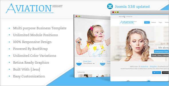 Multi-Purpose Personal Portfolio Joomla Template