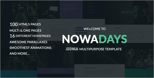 Multipage Creative Agency Joomla Theme