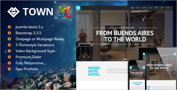 Multipurpose Joomla Bootstrap Template