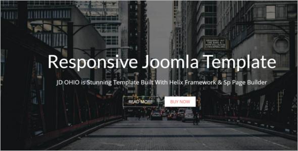 Multipurpose Joomla Template