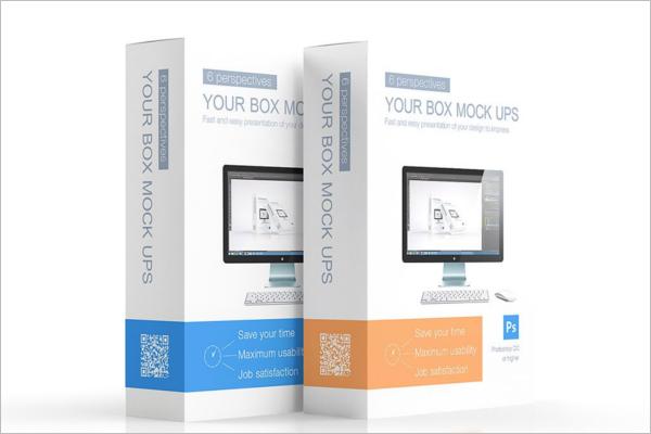 Multipurpose Product Box Mock up