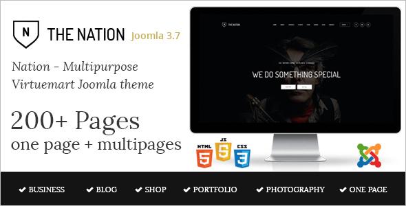 Multipurpose Virtuemart Joomla Template