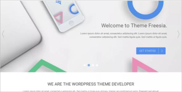 New Letter WordPress Template