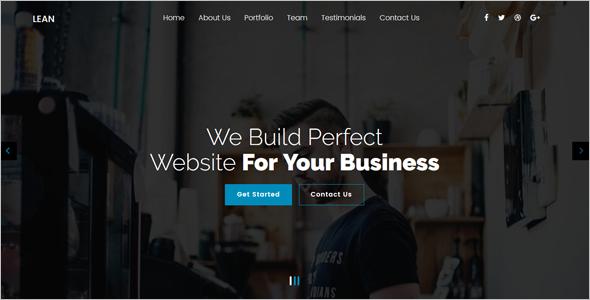 OnePage Joomla Website Template
