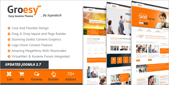 Online Store Multi-Purpose Joomla Template
