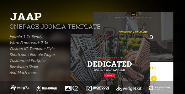 Onpage Joomla Template Design