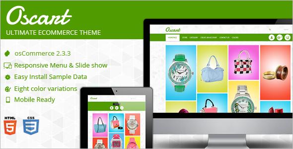 Oscart Mobile OsCommerce Theme