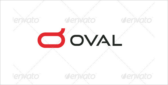 Oval Latter Symbol Logo Design