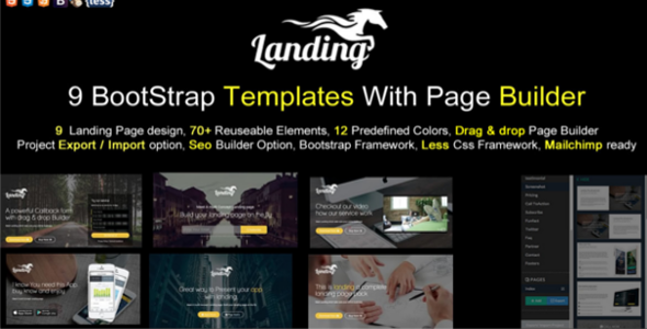 Page Builder Startup Template