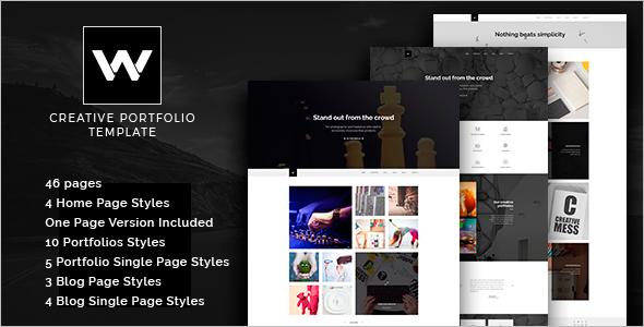 Parallax Joomla Design Template